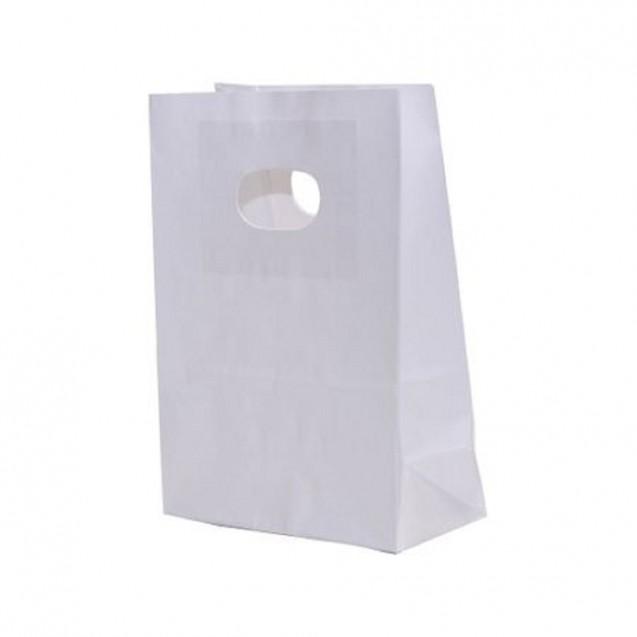 Pungi cadou, Sacose Cadou albe , 14x7x21 cm, 20 buc/set