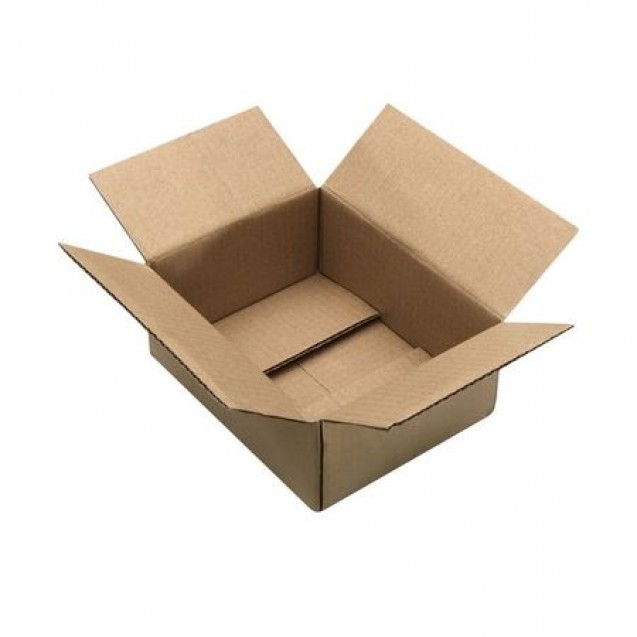 Cutii carton natur CO3, 230x230x250 mm, 25 buc
