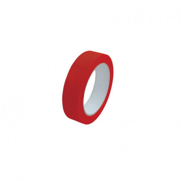 Banda pentru sigilat pungi, 9x66 mm, rosie, set 16 role